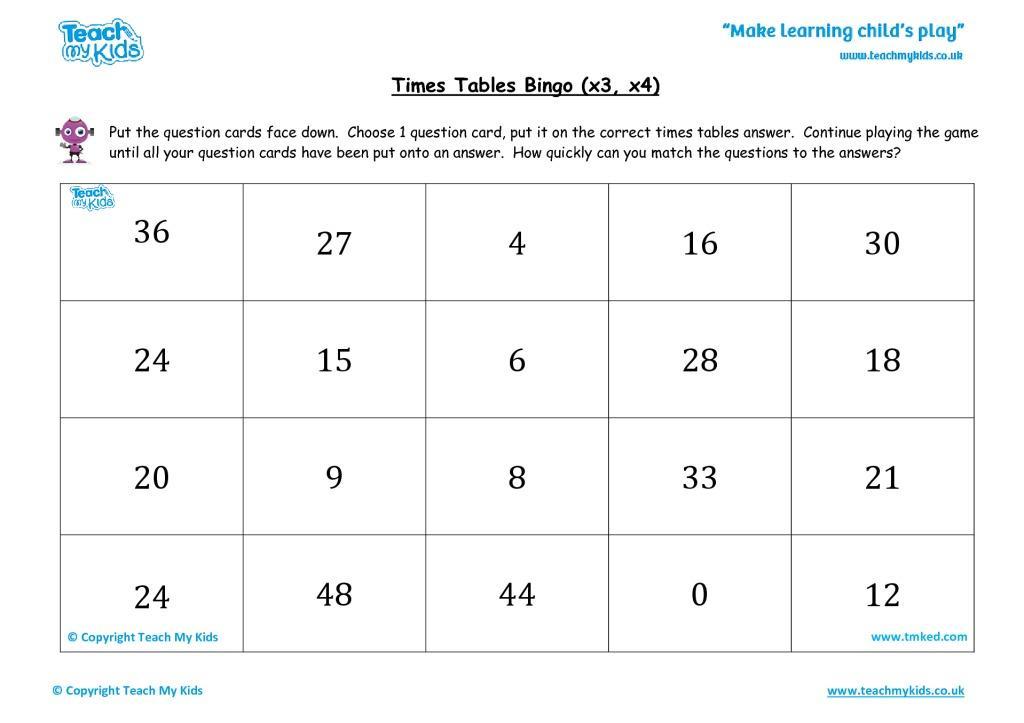 X3 Math Worksheets 7