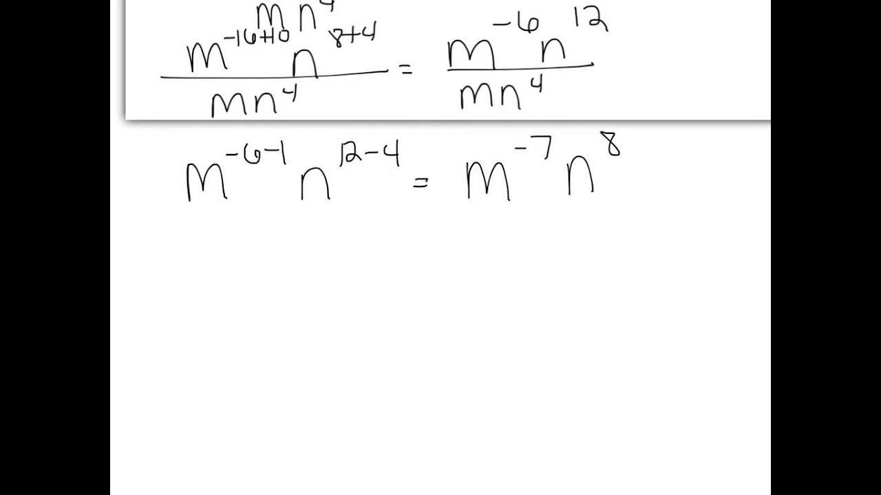 Algebra Ii Exponents Worksheets