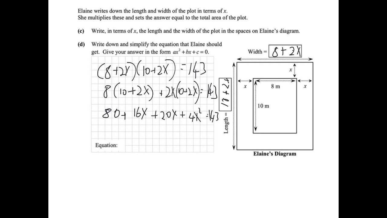 Algebra Worksheets Junior Cert 2