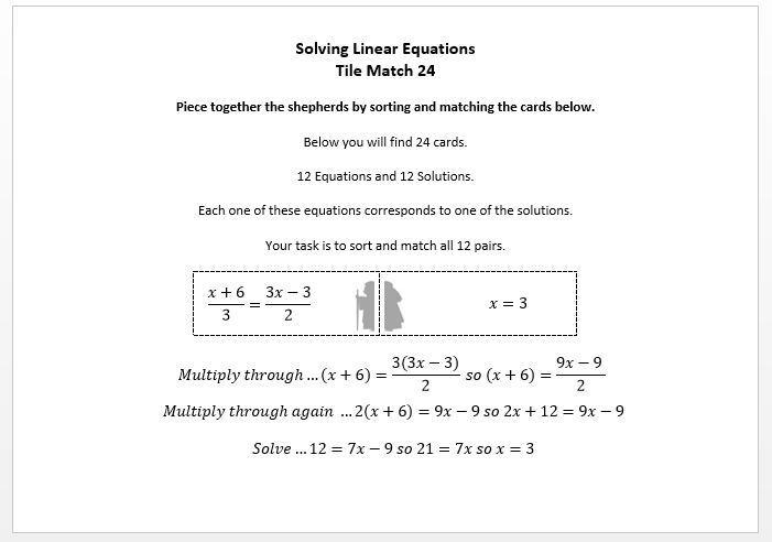 Algebra Worksheets Ks4 4
