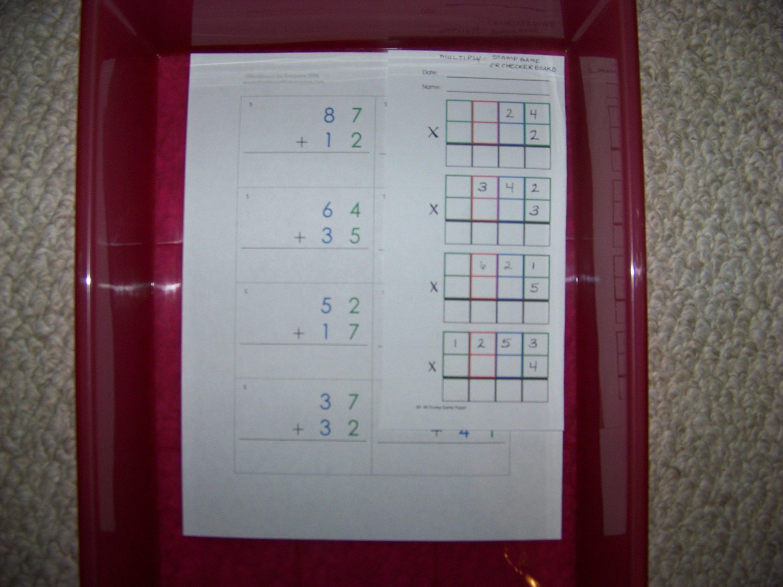 100 Problem Multiplication Worksheets Best Kids Worksheets