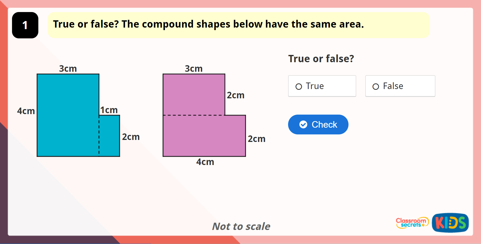 Year 5 Area Of Compound Shapes Lesson