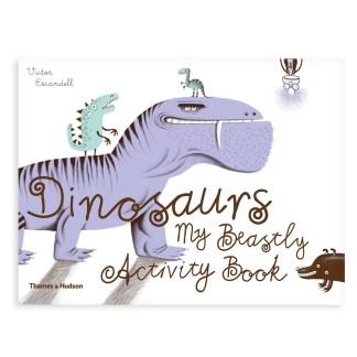dinosaurs, libro inglese per bambini