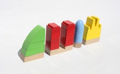 giochi di costruzione in legno