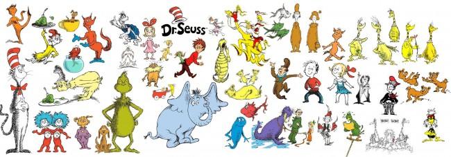 personaggi dr. seuss