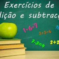 Exercícios de Adição e Subtração para treinares o teu cálculo!