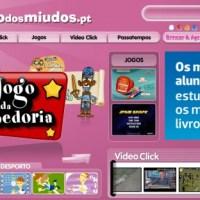 Sítio dos Miudos: Um site animado e educativo para ti