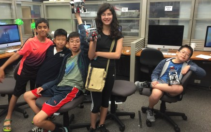 Lego Robotics Class at BCA 2016 finished