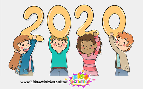 Kids image new year 2020