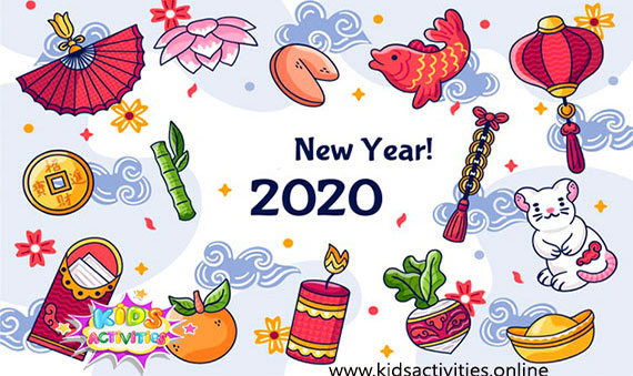 Download free Chinese new year cards 2020