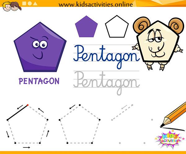 worksheets on shapes