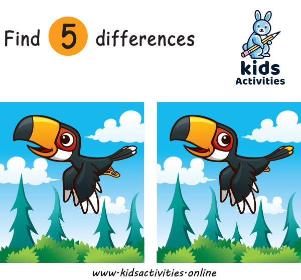 Find the difference cartoon