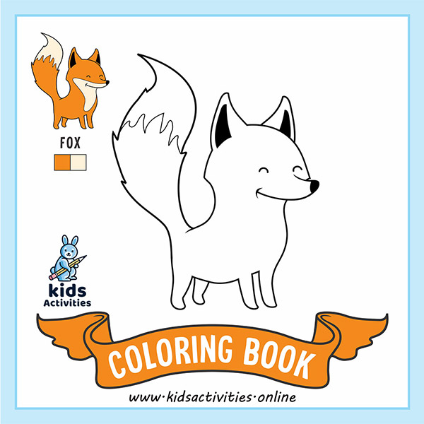 cute animals to color and print