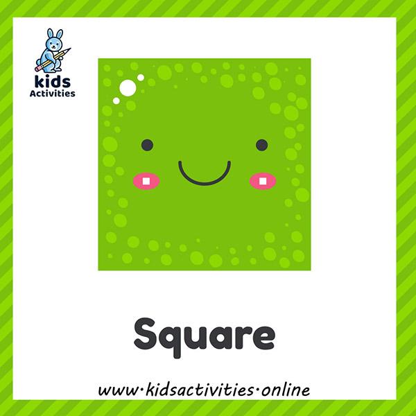 free printable shapes flashcards for kindergarten