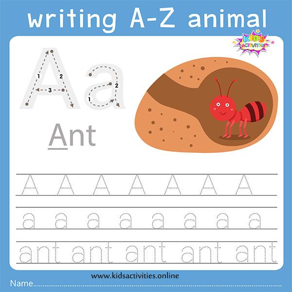 Free Printable Preschool Worksheets Tracing Letters ⋆ Kids Activities