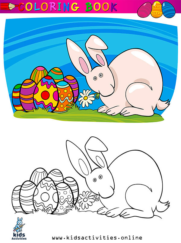Free Spring Coloring Pages For Preschoolers