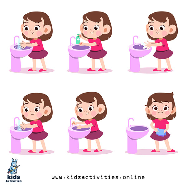 Free Download Hand Washing Clip Art