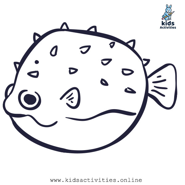 Free Printable Fish Coloring sheet