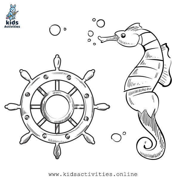 Free Printable Sea Animals Coloring Pages For Kids