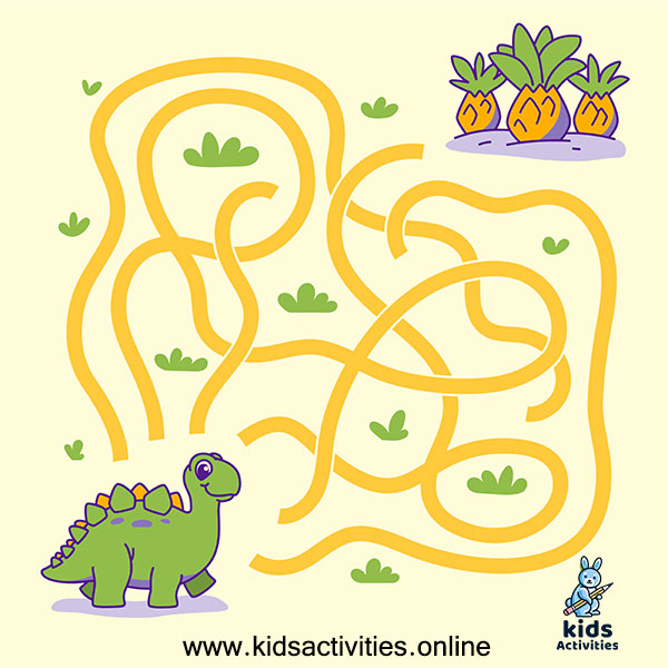 Simple maze for kids - Easy mazes for kids