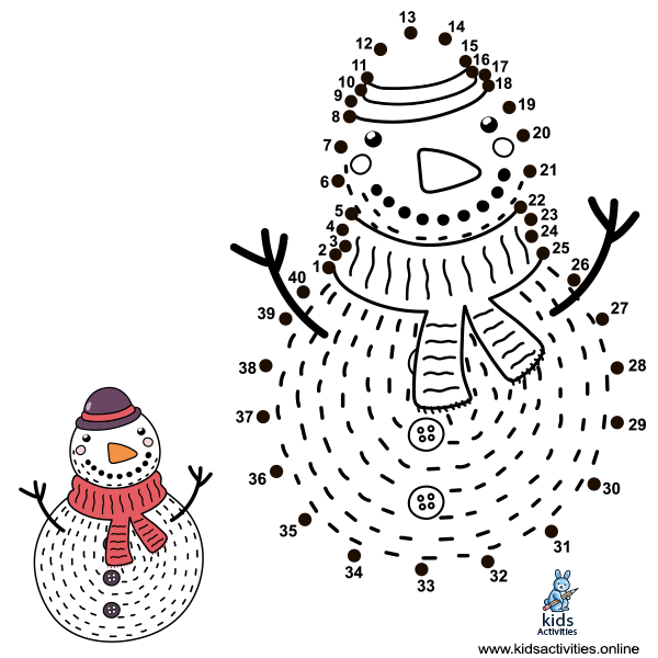 Connect the dots printable hard