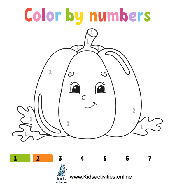 Coloring by numbers for free