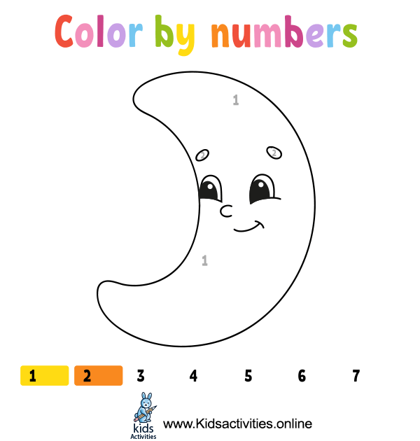 Coloring by numbers easy