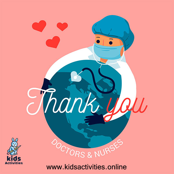Thank you doctor images corona