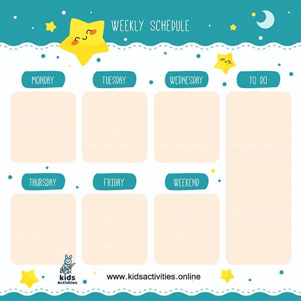 Daily planner printable pdf
