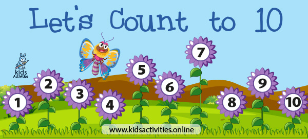 LEARN TO COUNT 1-10