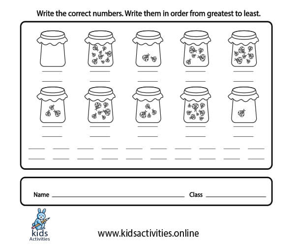 writing numbers 1 10 worksheets - counting-numbers-1-10-worksheets