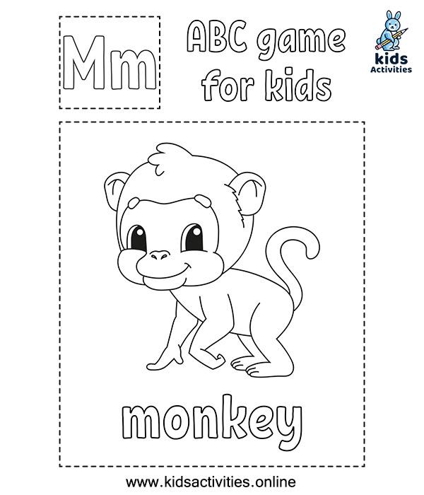 Alphabet animals worksheets