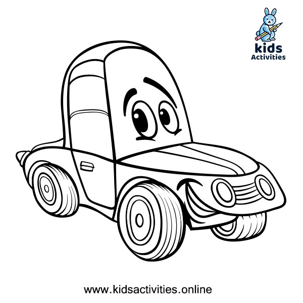 Car Coloring Pages for toddlers 2020