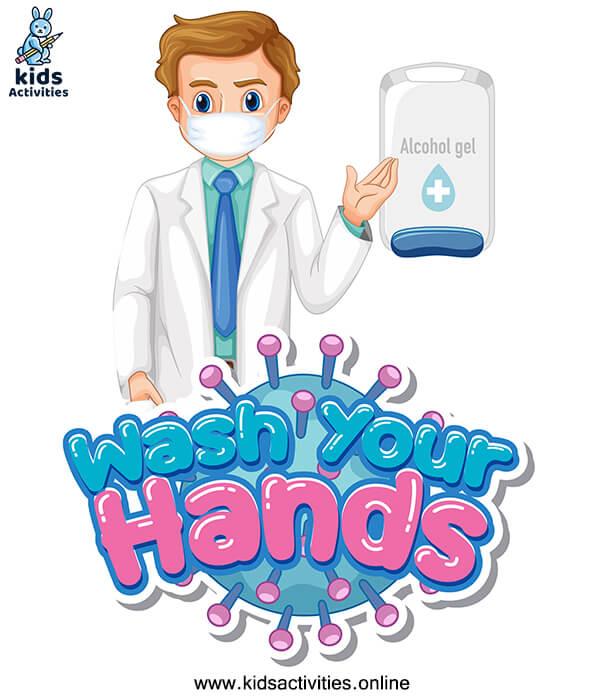 hand washing images