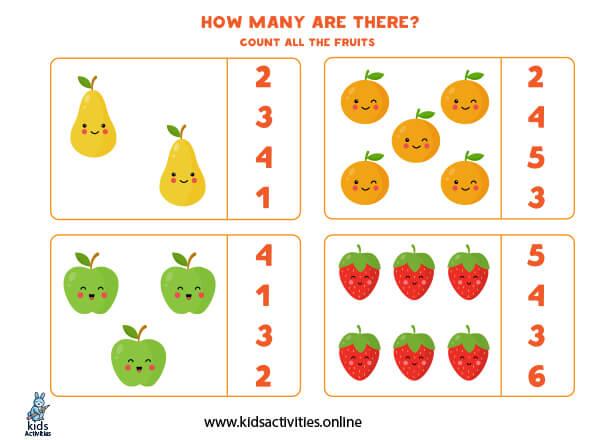 Free printable worksheets for kindergarten math