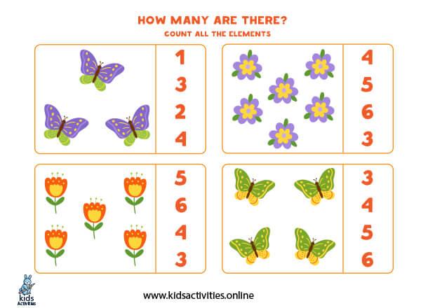 Free preschool math educational games for kids