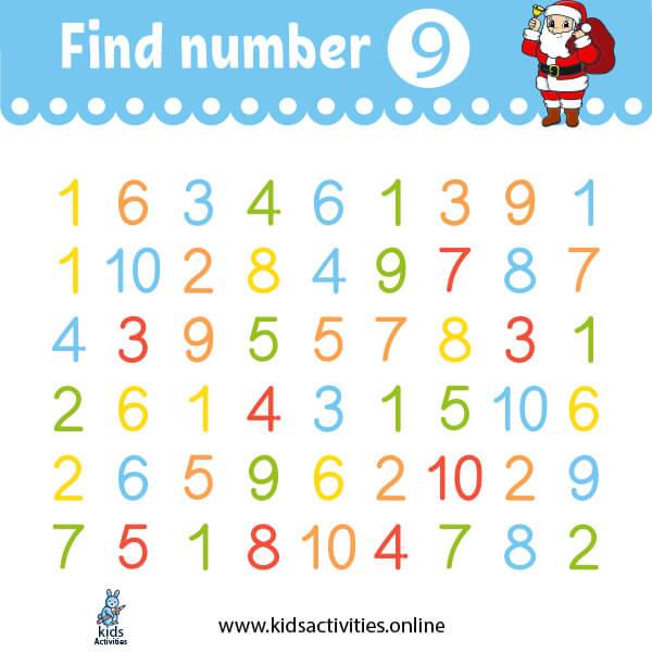 Kindergarten worksheets: free printable math worksheets