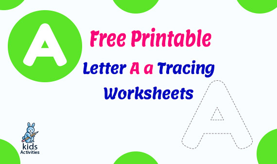 Free Printable Letter A a Tracing Worksheets