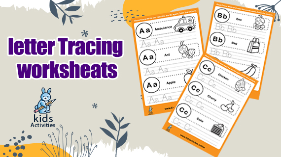Letter Tracing Worksheets Free Printable Alphabet Worksheets for Kids