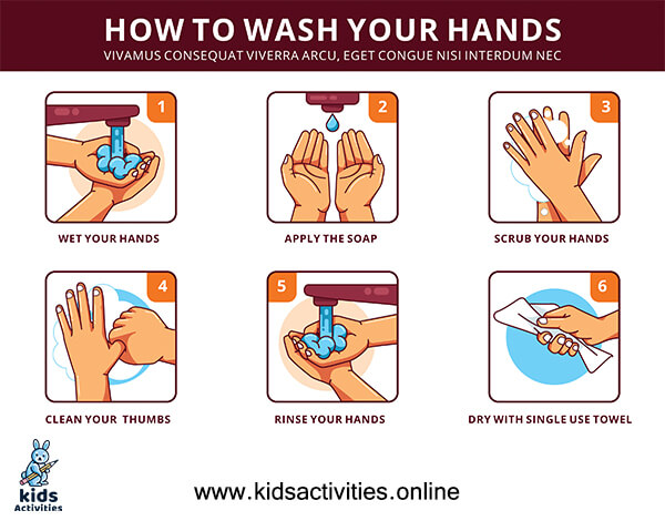 Free! hand washing & hand hygiene signs