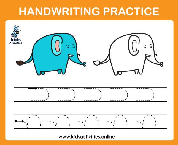 Pre-writing line worksheets for preschool