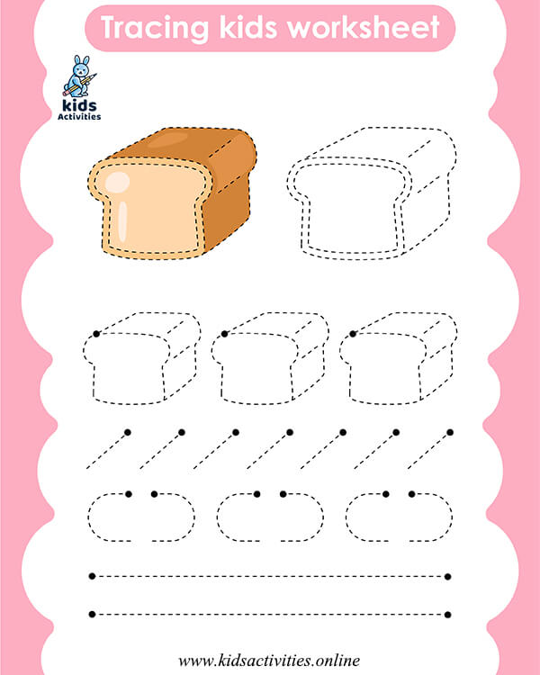 Pre-Writing Worksheets for preschool for 4 year olds