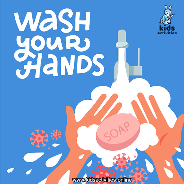 wash your hands sign printable