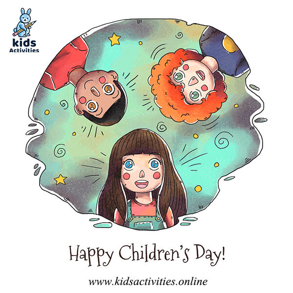 children's day greeting cards free