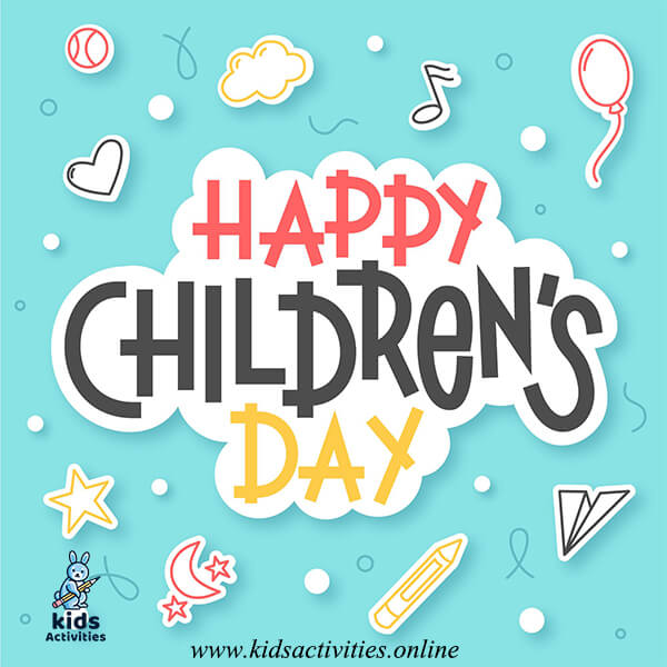 Happy childrens day quotes greeting - children's day images download