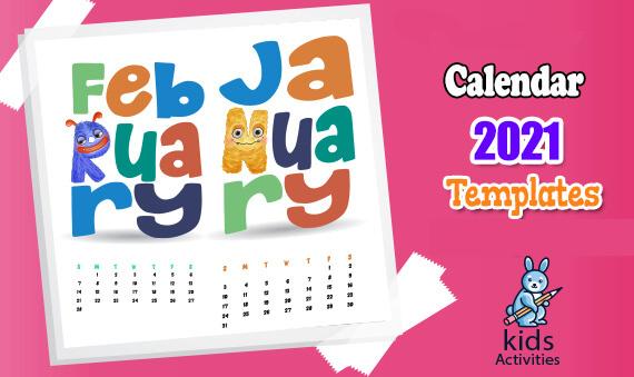Free Calendar 2021 Template