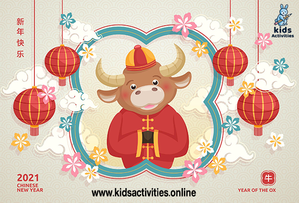 Happy Chinese new year 2021 clipart