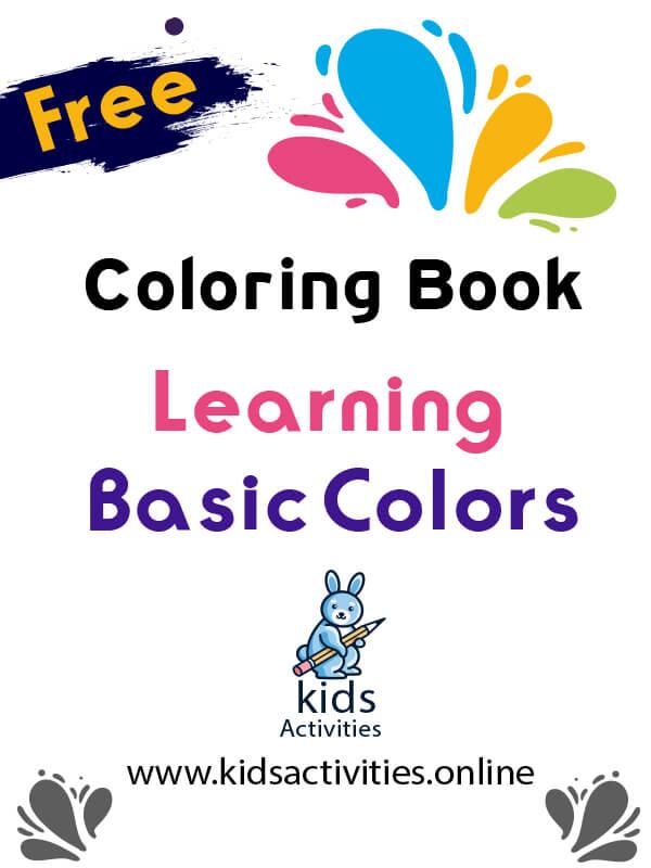 coloring book worksheets for preschools and kindergarden