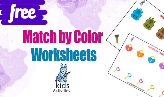 Free Preschool Color Recognition Worksheets