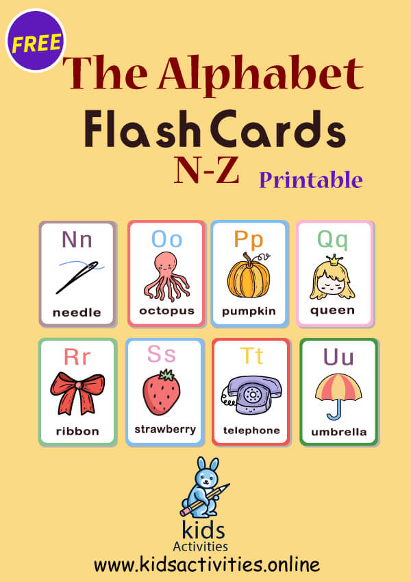 alphabet flaschcards